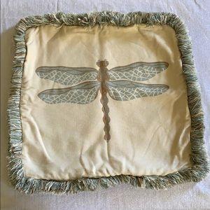 Elaine Smith Dragonfly Spa Pillow